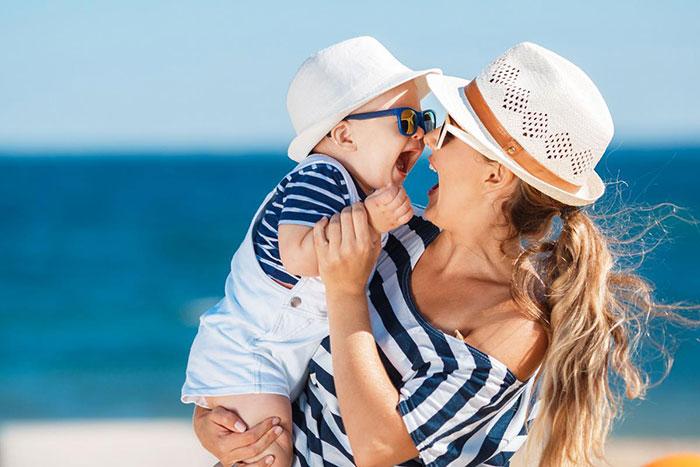 Как отправиться в отпуск с младенцем?